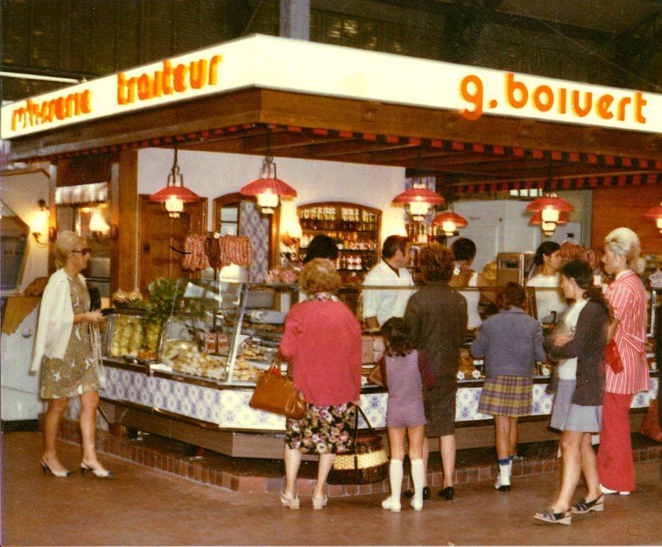 halles de Narbonne boivert vers 1970