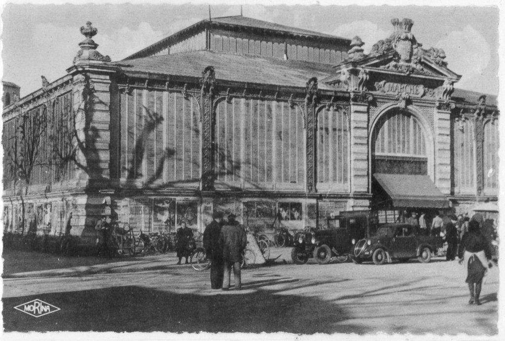 Facade exterieure halles de Narbonne XXeme siecle