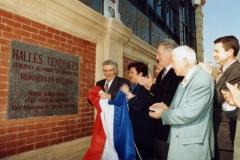 les halles inaugurees par le Maire Me Hubert MOULY 2