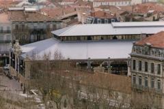 Halles de Narbonne vues d en haut