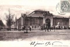 halles de Narbonne façade exterieure vers 1906