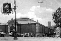 halles de Narbonne façade exterieure vers 1908