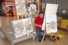 rencontre artistes halles de narbonne 2009 - (9)