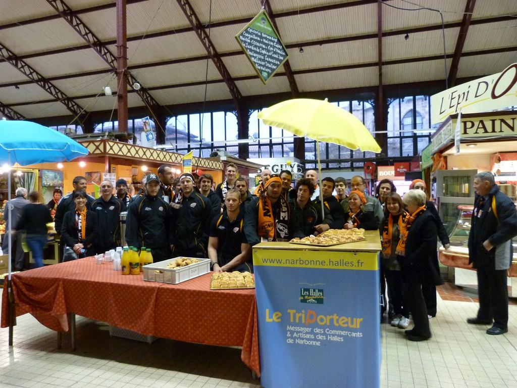 rcnm_petit_dejeuner_lancement_saison_echarpes_halles_narbonne_2012-04