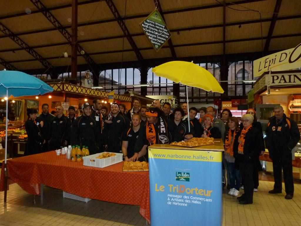 rcnm_petit_dejeuner_lancement_saison_echarpes_halles_narbonne_2012-06