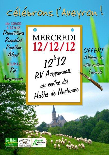 Affiche_aveyron_2012-halles_de_Narbonne_et_Amicale_des_Aveyronnais_de_l-Aude