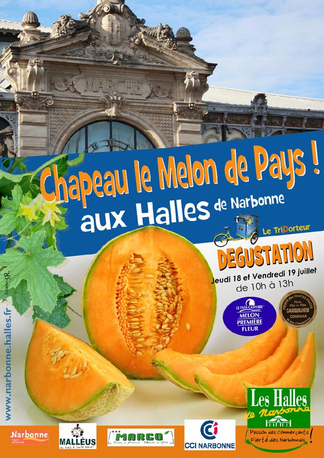 Chapeau Le Melon De Pays Aux Halles De Narbonne