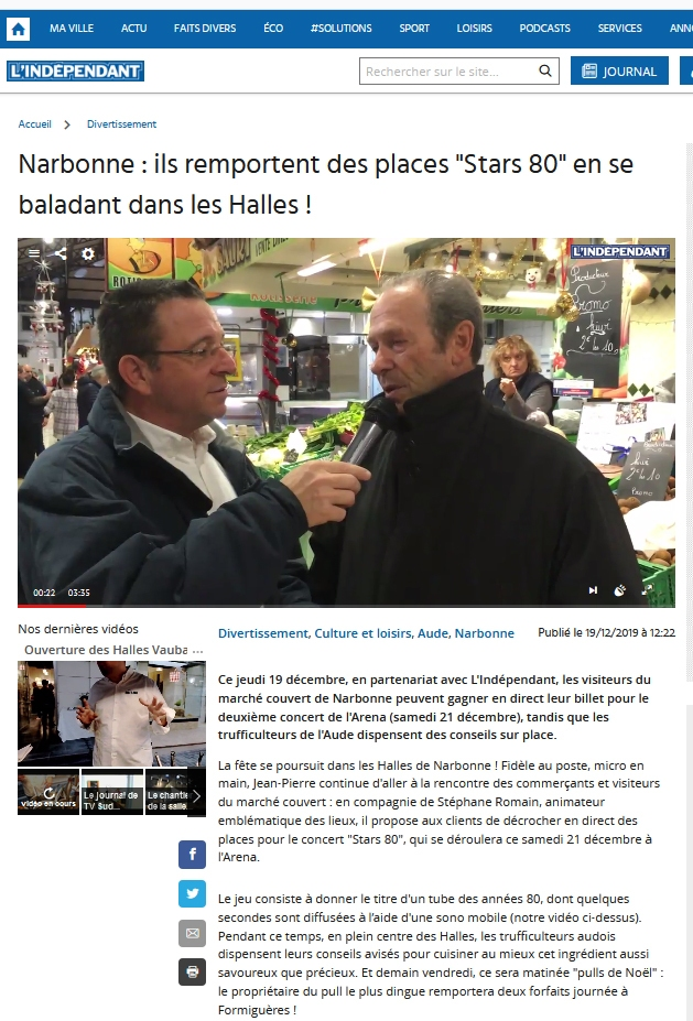 fete_fin_annee_noel_animation_lindependant_2019_halles_narbonne_independant