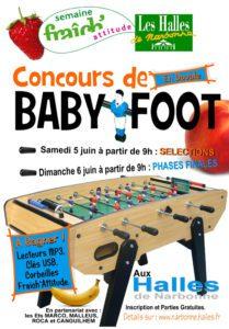tournoi babyfoot halles narbonne 2010