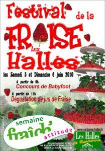 festival fraise halles narbonne 2010