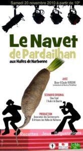 affiche-navet-pardailhan-halles-narbonne-2010