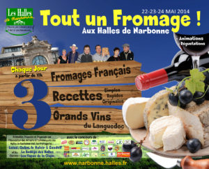 affiche_animation_fromages_vins_languedoc_halles_narbonne_2014