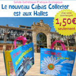 Le cabas collector des Halles – Version 2015