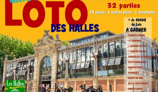 Grand Loto annuel des Halles de Narbonne 2015