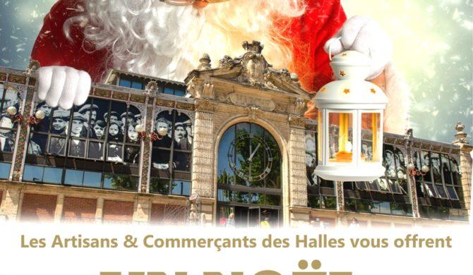 Fêtes de Fin d'année aux Halles 2015