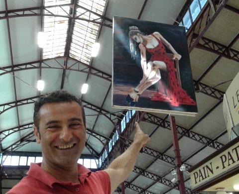 Des peintres s'exposent aux Halles de Narbonne 2016