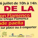 Fête de la Paella aux Halles de Narbonne 2016