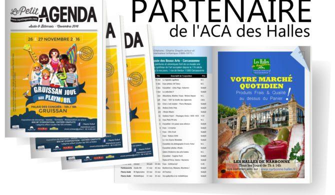 Partenariat avec «Le Petit Agenda» !