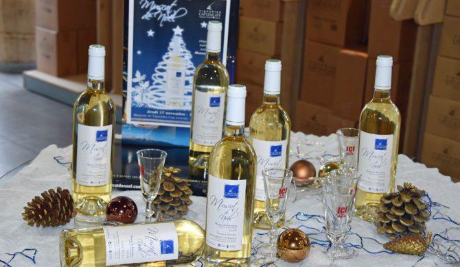 Le Muscat de Noël aux Halles de Narbonne