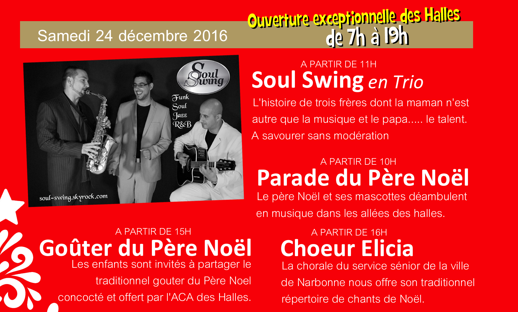 halles_narbonne_animation_soul_swing_gouter_choeur_elicia_pere_noel_mascottes_2016