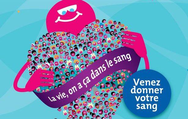 Campagne pour le don de sang aux Halles de Narbonne