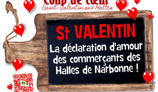 Saint Valentin aux Halles de Narbonne