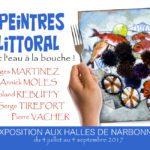 Les Peintres du Littoral exposent aux Halles de Narbonne