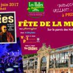Fête de la Musique 2017 aux Halles de Narbonne