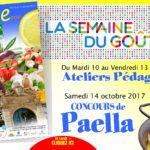 Semaine du Goût aux Halles de Narbonne