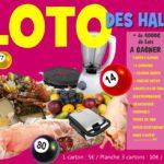 Grand Loto annuel des Halles 2017 !