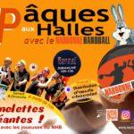 Pâques aux Halles de Narbonne : le NHB casse les œufs avec les commerçants !