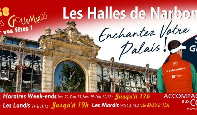 Les Halles de Narbonne : Pour enchanter votre Palais !