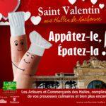 SAINT VALENTIN AUX HALLES