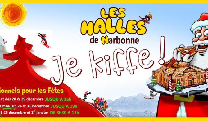 Fêtes de fin d'année 2019 aux Halles de Narbonne
