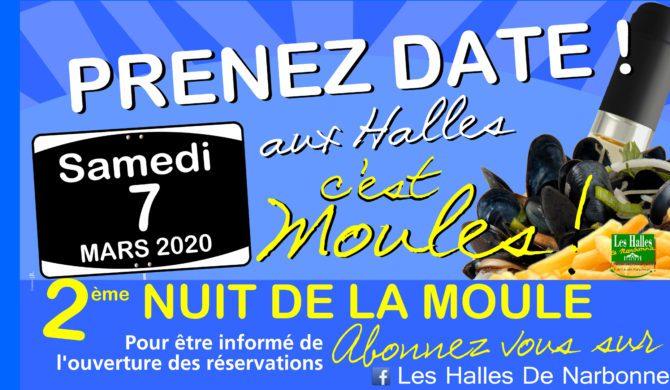 Le 7 mars 2020 : C'est Moules !