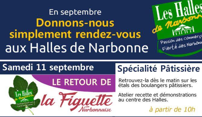 Le retour de la Figuette aux Halles de Narbonne