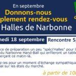La Narbonne Handball aux Halles de Narbonne